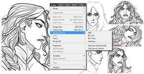 Курс профессиональное рисование на планшете: пример задания