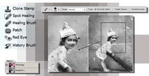 Практическая работа ретушь в фотошопе