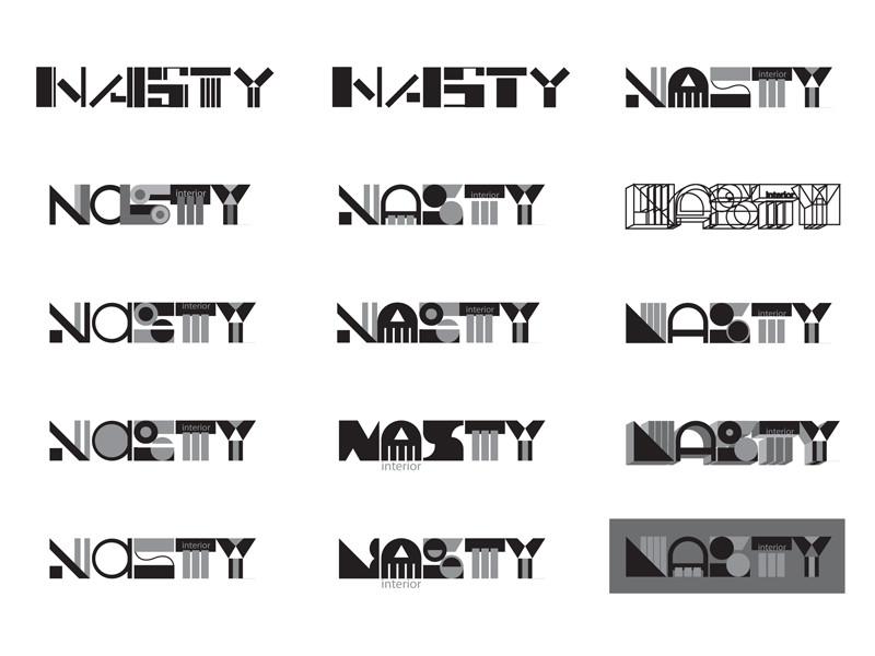 логотип геометрия:
