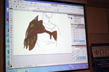 Презентация интерактивного дисплея Wacom Cintiq21