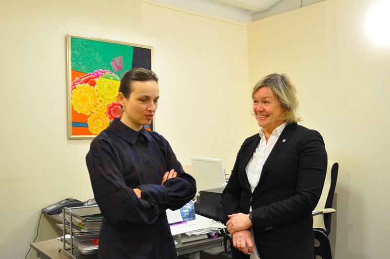 Преподавателя ВИШ Ольгу Кордюкову приняли в Союз Дизайнеров России